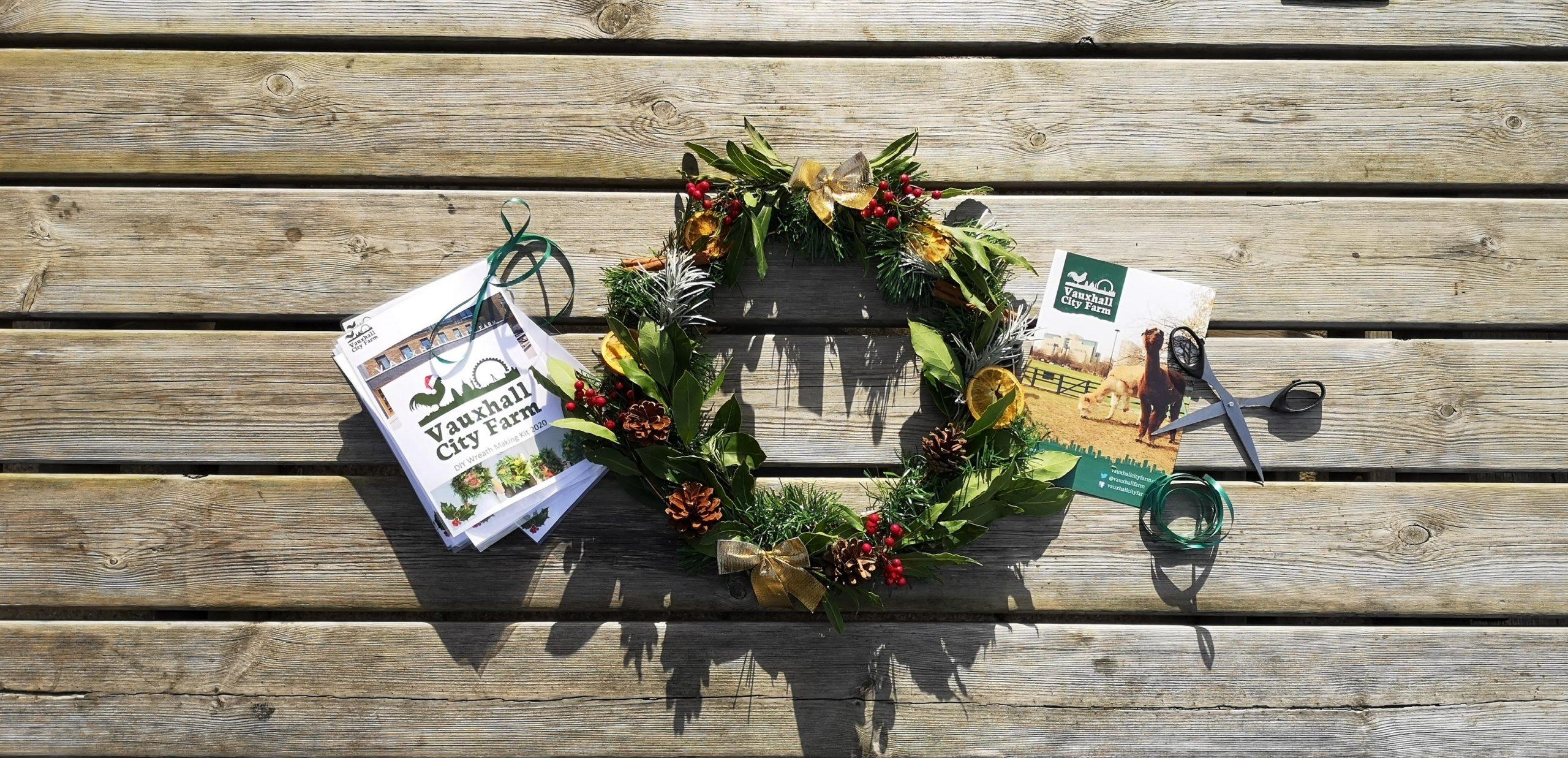 DIY Wreath Making Boxes